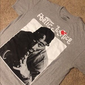 """Poetic Justice """"Tupac Shakur"""" T-Shirt - XL"""